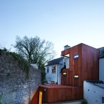 façade extension - Ranelagh House - ODKM Architect - Dublin - Irlande