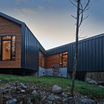 façade - Holston River House - Sanders-Pace-Architecture - USA