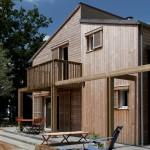 Façade intérieure - Maison Bois - Patrice Bideau - St Goustan - France