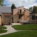 Façade intérieure -Maison Bois - Patrice Bideau - St Goustan - France