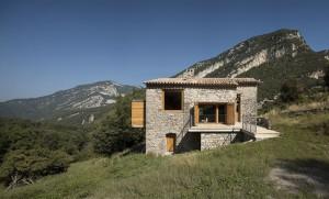 façade maison - rénovation - maison traditionnelle - El Bosquet  - espagne - photos Aleix Bagué