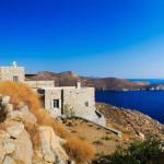 façade ouest et vue sur mer - Eagles-Nest- Sinas Architects -Serifos - Grèce - Nikos Stefani