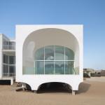 façade ouest -Vault House - Johnston-Marklee - USA