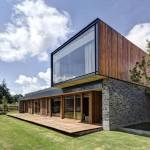 façade partie privée - Casa VR - Elias Rizo Architecte - Tapalta - Mexique