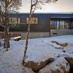 face arrière - Holston River House - Sanders-Pace-Architecture - USA