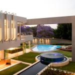 Jardin - Glass House par Nico Van Der Meulen Architects à Johannesburg Afrique du Sud