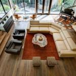 Salon - Le Leblanc-Cox résidence par Charles Todd Helton, USA