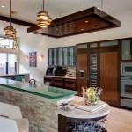 Cuisine - Le Leblanc-Cox résidence par Charles Todd Helton, USA