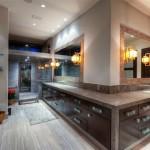 Salle de bains - Le Leblanc-Cox résidence par Charles Todd Helton, USA