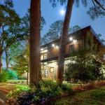 Façade arrière - Le Leblanc-Cox résidence par Charles Todd Helton, USA