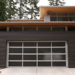Garage - Olympic View House - ©BC&J Architects.