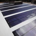 panneaux photovoltaïques souples sur terrasse - Domaine des Vautes - Frédérick Jauvion - Montpellier - France