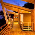 passerelle de nuit - benjamin garcia saxe - maison sur pilotis - costarica