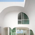 patio et cuisine -Vault House - Johnston-Marklee - USA