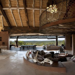 Pièce de vie  - Réserve Leobo - Rech et Cartens Architects - Afrique du Sud