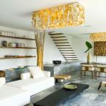 Pièce de vie - Maison Bambou par Atelier Sacha Cotture - Philippines