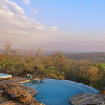 Piscine et vue panoramique - Réserve Leobo - Rech et Cartens Architects - Afrique du Sud