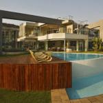 piscine extérieure - Glass House par Nico Van Der Meulen Architects à Johannesburg Afrique du Sud