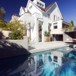 Piscine - façade arrière - Honiton Residence - MCK Architects - Australie