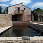 Piscine - Maison Bois - Patrice Bideau - St Goustan - France