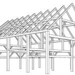 Plan - Rénovation Grange - Barn Heritage - Fultonville - USA