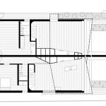 plan - Surélévation - Balmain-Houses-Benn et Penna - Australie