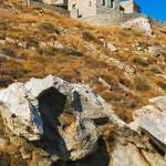 rocher et vue extérieure - Eagles-Nest- Sinas Architects -Serifos - Grèce - Nikos Stefani