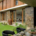 Salle à manger extérieure - Maison Bambou par Atelier Sacha Cotture - Philippines