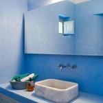 salle de bains - Eagles-Nest- Sinas Architects -Serifos - Grèce - Nikos Stefani