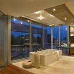 Salle de bains - Glass House par Nico Van Der Meulen Architects à Johannesburg Afrique du Sud