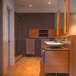 salle de bains - maison bois - Anik Pelockuin - Messines - Canada