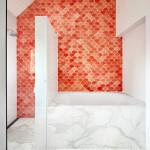 Salle de bains marbre - Honiton Residence - MCK Architects - Australie