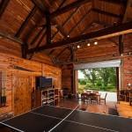 Salle de jeux  - Rénovation Grange - Barn Heritage - Fultonville - USA