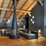 salon - Villa solaire - Jérémie Kœmpgen - Morzine - France
