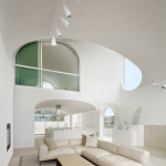 salon - cuisine - mezzanine -Vault House - Johnston-Marklee - USA