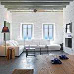 salon - Eagles-Nest- Sinas Architects -Serifos - Grèce - Nikos Stefani