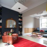 salon fauteuil - Ranelagh House - ODKM Architect - Dublin - Irlande