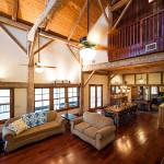 Salon - Rénovation Maison - Barn Heritage - Fultonville - USA