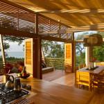 séjour cuisine - benjamin garcia saxe maison sur pilotis - costarica
