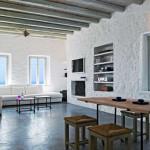 séjour et salon - Eagles-Nest- Sinas Architects -Serifos - Grèce - Nikos Stefani
