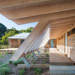 promenade d'accès entre les 2 ailes - Somers House March-Studio - Australie