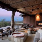 Terrasse  - Réserve Léobo - Rech et Cartens Architects - Afrique du Sud