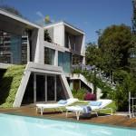 terrasse piscine - The Garden House - Joaquín Alvado Bañón - Alicante Espagne