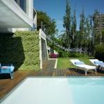 terrasse - The Garden House - Joaquín Alvado Bañón - Alicante Espagne