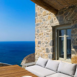 terrasse vue sur mer - Eagles-Nest- Sinas Architects -Serifos - Grèce - Nikos Stefani
