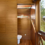 toilettes - Treehouse - Rockefeller Partners Architects - USA
