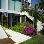 végétation - entrée arrière - The Garden House - Joaquín Alvado Bañón - Alicante Espagne