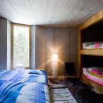 villa vals mountain courtyard - seach et CMA - chambre
