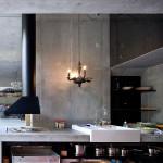 villa vals mountain courtyard - seach et CMA - cuisine