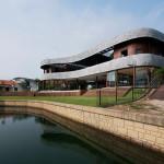 Villa S par Linghao architects, Sentosa Island, Singapour